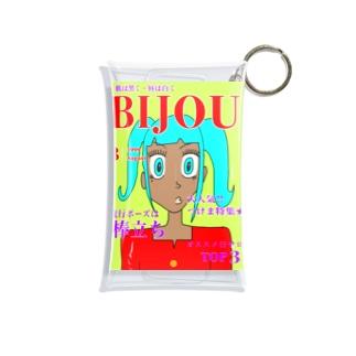 BIJOU平成ガングロギャル Mini Clear Multipurpose Case