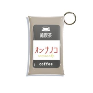 純喫茶オンナノコ Mini Clear Multipurpose Case