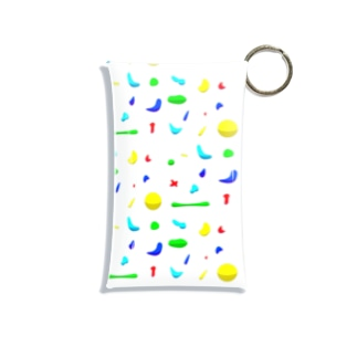 もち米のLet's bouldering! Mini Clear Multipurpose Case