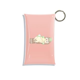 だらだら女子のコイン入れ Mini Clear Multipurpose Case