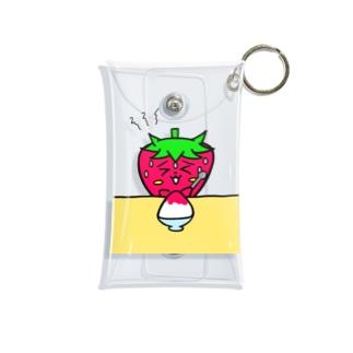 いちごのチーゴくん かき氷 Mini Clear Multipurpose Case
