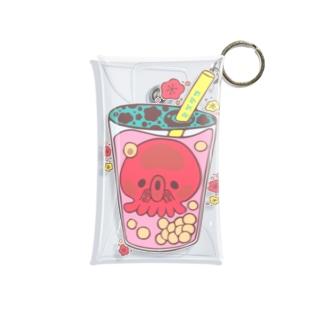 ミズダコ*タピオカ Mini Clear Multipurpose Case