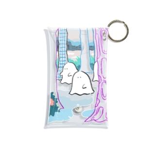 森のオバケちゃん(ひる) Mini Clear Multipurpose Case