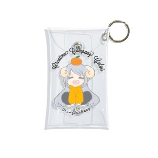【ひつじのりさ】ミニクリアケース design by 山内里紗 Mini Clear Multipurpose Case