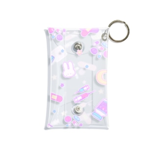 Yamikawaii Syndrome #Clear クリアケース Mini Clear Multipurpose Case