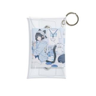 BLUEの音猫ちゃんPart2 Mini Clear Multipurpose Case