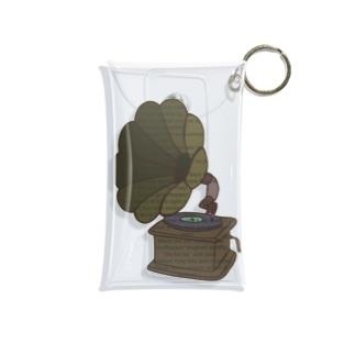 蓄音機 Mini Clear Multipurpose Case