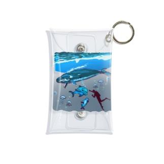 スカンジナビアの海のお散歩 Mini Clear Multipurpose Case