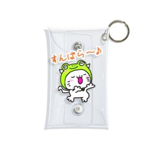 みちカエルちゃん Mini Clear Multipurpose Case