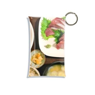 イナダのお刺身定食デス Mini Clear Multipurpose Case
