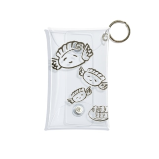 羽根つき餃子 Mini Clear Multipurpose Case