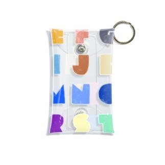 Alphabet Mini Clear Multipurpose Case