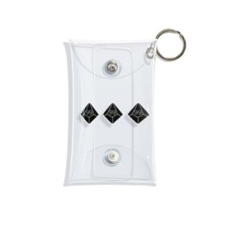 10面ダイス99b Mini Clear Multipurpose Case