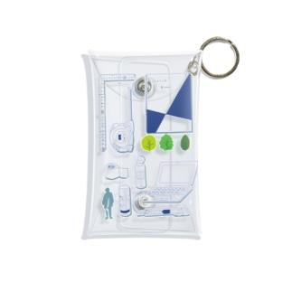 建築ぶんぼうぐ Mini Clear Multipurpose Case