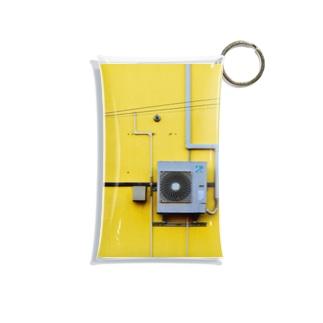 室外機 黄色 Mini Clear Multipurpose Case