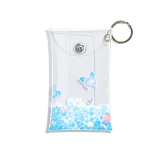 夏の庭 Mini Clear Multipurpose Case
