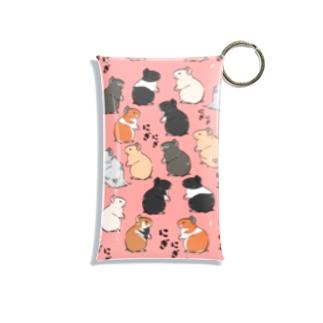 にぎにぎハムちゃん Mini Clear Multipurpose Case