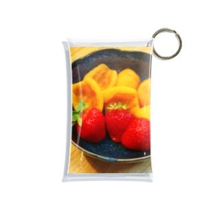 苺&枇杷(写真) Mini Clear Multipurpose Case