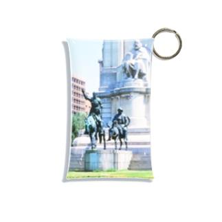 スペイン:セルバンテスとドン・キホーテ Spain: Miguel de Cervantes Saavedra & Don Quijote de la Mancha / Plaza de España Mini Clear Multipurpose Case
