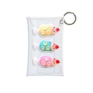 クリームソーダ3姉妹 Mini Clear Multipurpose Case