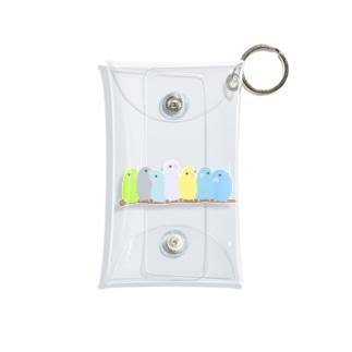 鈴なりマメルリハ Mini Clear Multipurpose Case