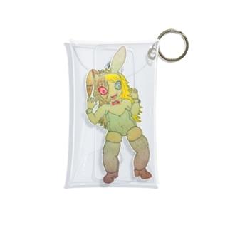 肉厚バニーアリス Mini Clear Multipurpose Case