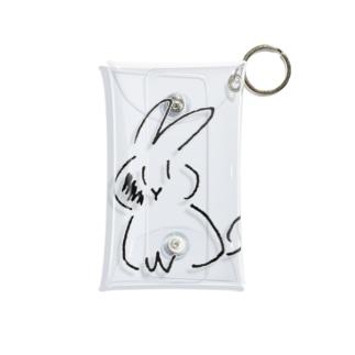 ぜんむぎちゃん Mini Clear Multipurpose Case