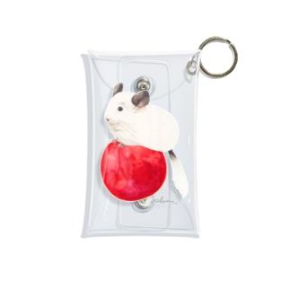 plum shopのplum on plum  Mini Clear Multipurpose Case