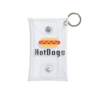 HotDogs Mini Clear Multipurpose Case
