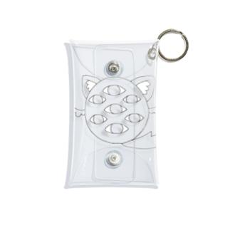 妖怪ななつめ Mini Clear Multipurpose Case