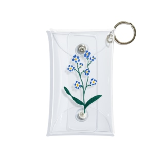forget me not. Mini Clear Multipurpose Case