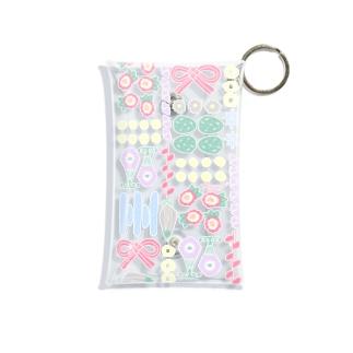 お花のおせち 透過ver Mini Clear Multipurpose Case