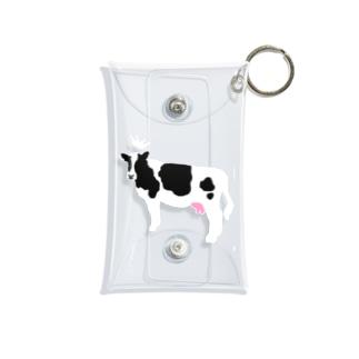 乳牛さま Mini Clear Multipurpose Case