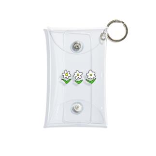 しろ花 Mini Clear Multipurpose Case