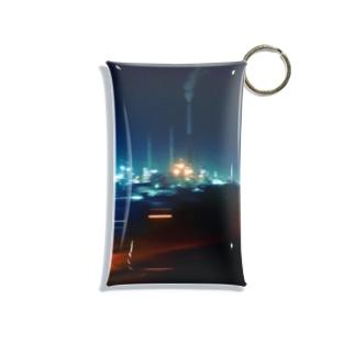 旅 山口県-夜 Mini Clear Multipurpose Case