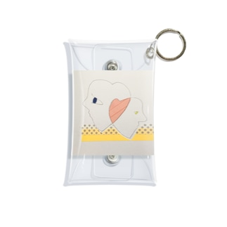 マステ絵♡&♡ Mini Clear Multipurpose Case