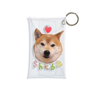 ラブリー柴犬 Mini Clear Multipurpose Case