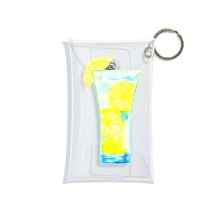 爽やかレモンスカッシュ Mini Clear Multipurpose Case