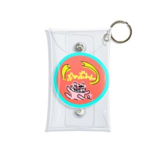 ぶひぶひんちゃん Mini Clear Multipurpose Case