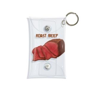 ローストビーフ Mini Clear Multipurpose Case