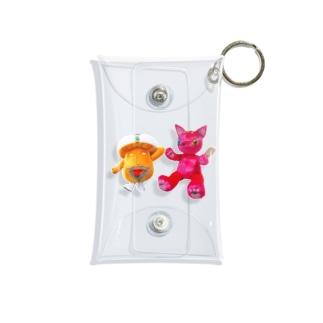 サイケ・デリー&らぶちゃん Mini Clear Multipurpose Case