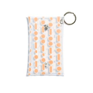 モールス(橙) Mini Clear Multipurpose Case