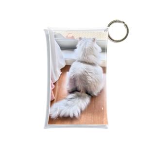 猫しゃちょうのアッくんの、お・し・り❤ Mini Clear Multipurpose Case