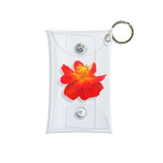 お花 Mini Clear Multipurpose Case
