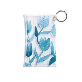 palette_藍色チューリップ Mini Clear Multipurpose Case