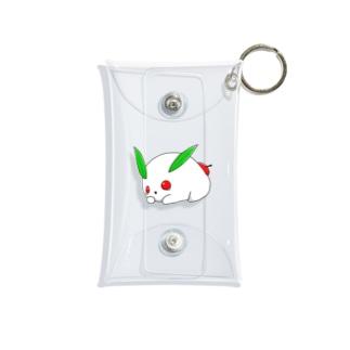 ユキウサギ-Draw jojo Mini Clear Multipurpose Case