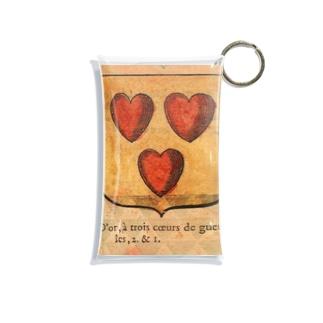 フランスの紋章 Mini Clear Multipurpose Case