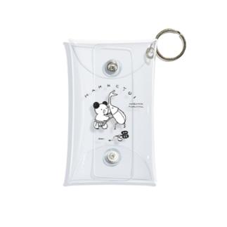 カブトムシと相撲するもちこ Mini Clear Multipurpose Case