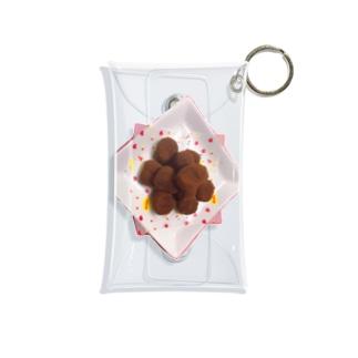 夏輝カンナのチョコレート Mini Clear Multipurpose Case