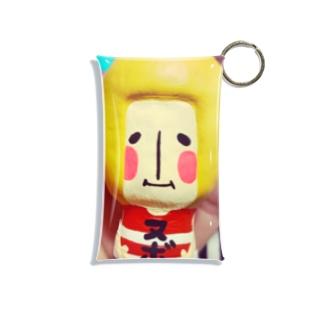 手乗りヌボーさん☺︎ Mini Clear Multipurpose Case